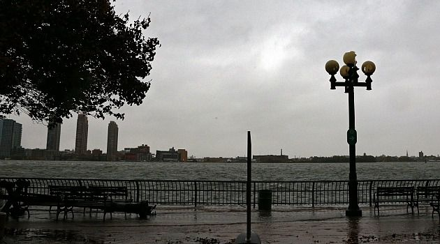 Sandy Coming: Jewish federations and schools shut down as Hurricane Sandy pounded the coast.
