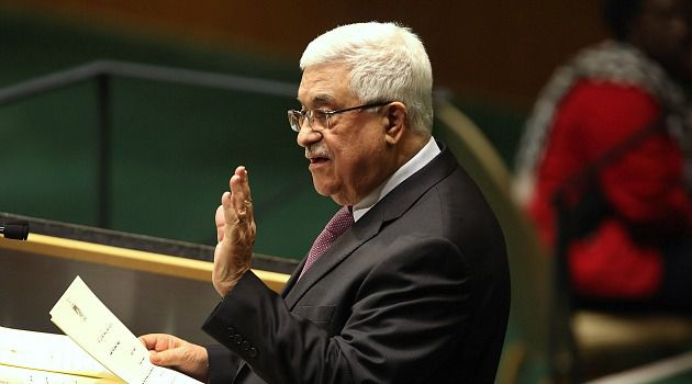 U.N. Upgrade: Mahmoud Abbas asked the U.N. to upgrade the status of the Palestinian Authority.