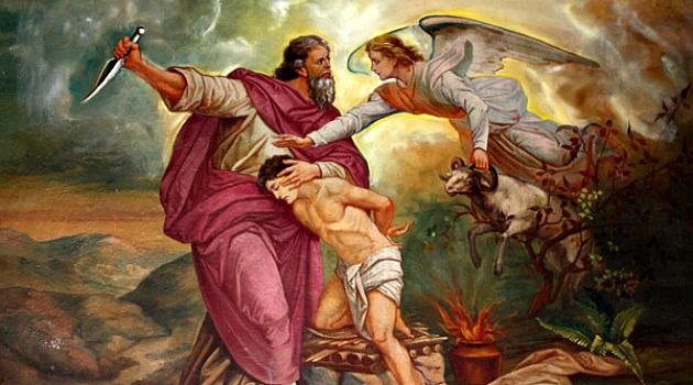 Image result for abraham killing isaac