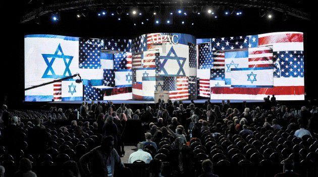 The AIPAC annual policy conference in Washington on March 3, 2013.