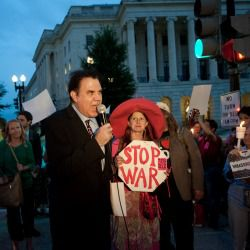 U.S. Rep Alan Grayson of Florida, is against the military strikes.