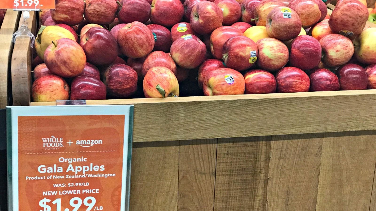 A Rosh Hashanah staple, apples are among the items on sale at Whole Foods.