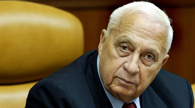 ?Positive Indication?: Ariel Sharon, shown here in a 2005 photo, still has significant brain activity despite a severe stroke in 2006, doctors say.