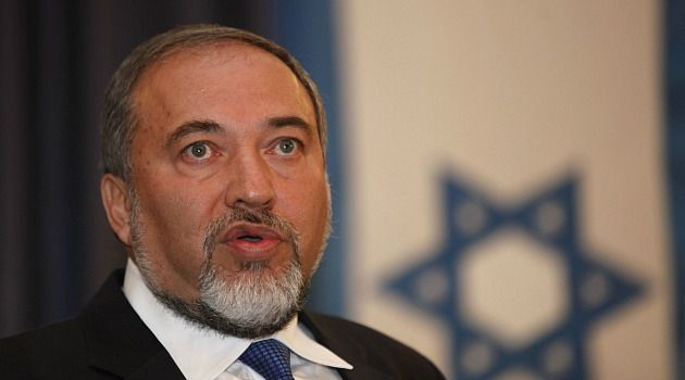 New Partnership: The joining of their two political parties has made Avigdor Lieberman effectively Netanyahu?s chief deputy.