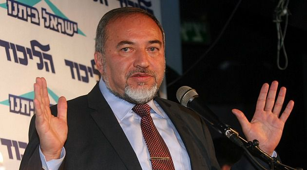 I Quit: Foreign Minister Avigdor has resigned amid corruption allegations.