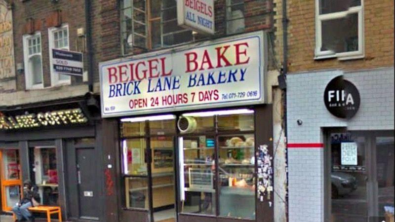Beige Bake bakery in London's East End.