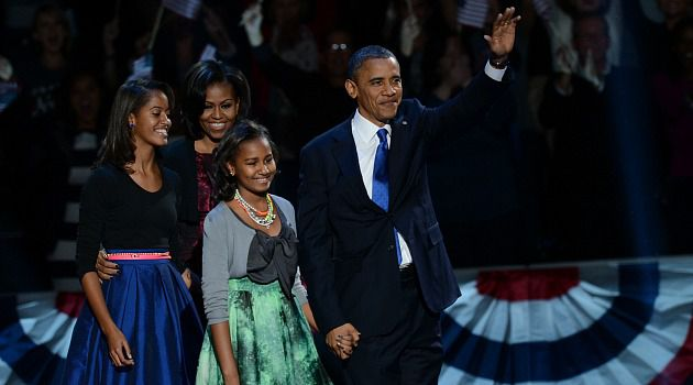 Four More Years: President Barack Obama won re-election over Republican Mitt Romney after sweeping swing states.
