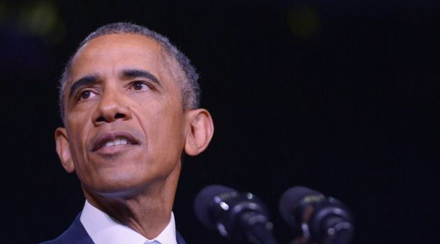 Where's Barack? President Obama appeared in Tennessee for an appearance discussing job growth. Why wasn't he or another top American official in Paris for march against terrorism?
