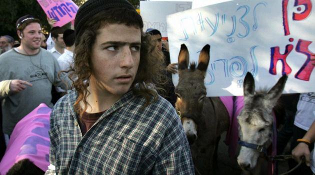 Intolerance: Anti-gay activists hold 2006 Jerusalem march to spotlight 'deviant' acts.