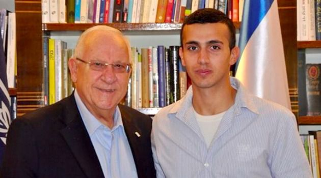 Israeli President Reuven Rivlin spoke with Tommy Hasson.