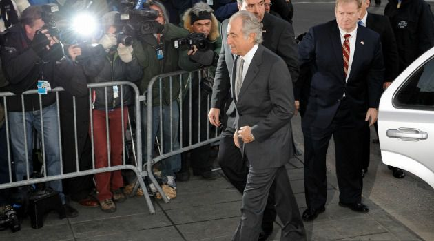 Ailing Bernie: Bernard Madoff, who stole billons in a massive Ponzi scheme, suffered a heart attack at a federal prison.