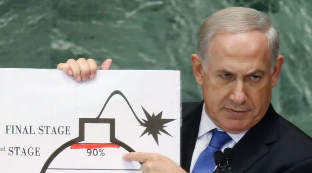 No Big Threat? It was almost two years ago that Benjamin Netanyahu grimly warned the world of the 'existential' threat posed by Iran's nuclear program. Now, a deadline to reach a deal is approaching with little sign of concern.