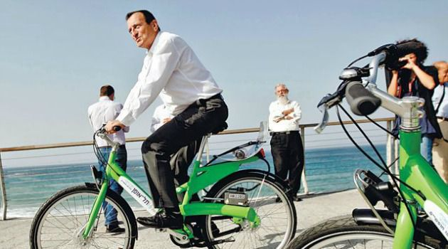 Two Wheeler: An Israeli minister wants Tel Aviv?s bicycle-rental program shut down for Yom Kippur.