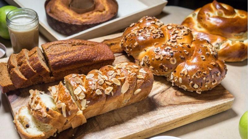 Rosh Hashanah goodies from Breads Bakery.
