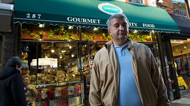 Punch in the Gut: Yuksel Pece?s gourmet store lost $15,000 in inventory when Superstorm Sandy struck. That turned out to be only the tip of a devastating iceberg for him and other Brighton Beach merchants.