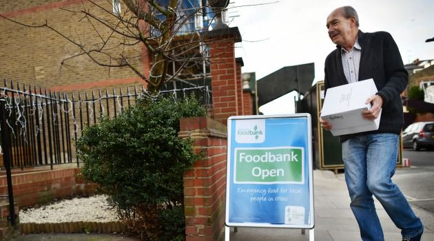 British man delivers food to soup kitchen. Some pro-Israel activists are using the holiday to dent the BDS movement at the same time as they help the needy.