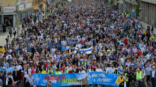 Always Remember: Hungarians march in Holocaust remembrance 'March of the Living.'
