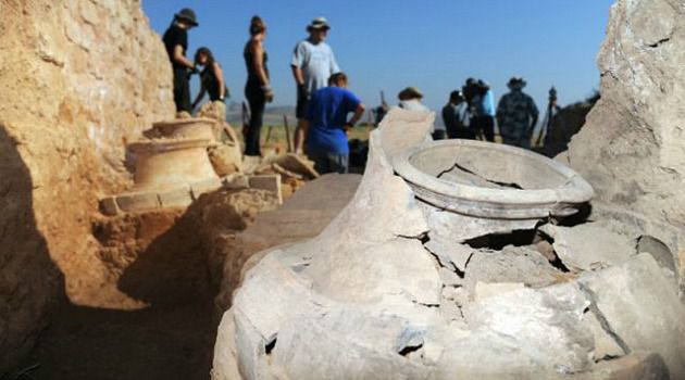 Ancient Artifacts: Archeologists have unearthed items like jugs and burned bricks that offer clues to the torching of an ancient city in the Galilee.