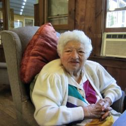Family Ties: Generations of Cantors attended the reunion. At 89, Florence Hornick was the oldest among them.