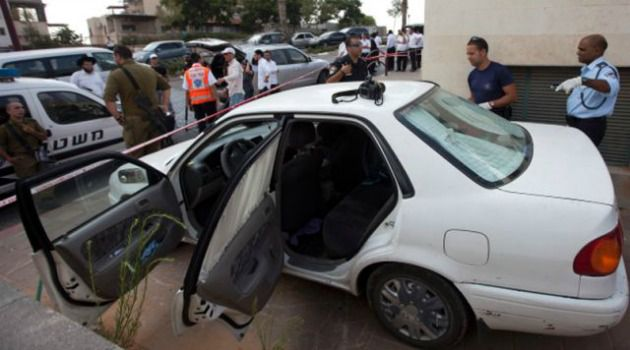 Left Behind: A 5-year-old Israeli boy died after being left in this locked car for hours in a West Bank settlement.
