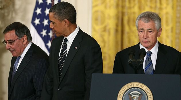 Controversial Pick: Chuck Hagel is nominated for Secretary of Defense post.