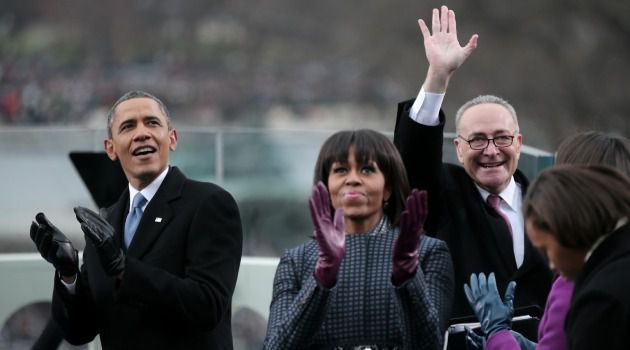 Still the One? Sen. Chuck Schumer is a strong supporter of Barack Obama, and was rewarded with a prime position at the president's second inauguration.