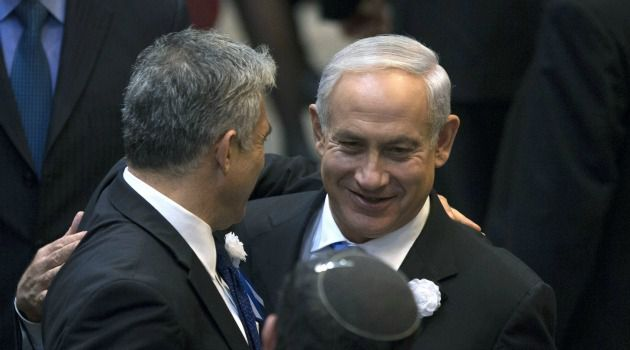 Benjamin Netanyahu clinched a coalition deal with rivals Yair Lapid and Naftali Bennett to form a new Israeli government.