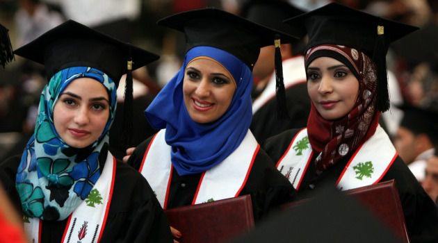 Free to Study? Palestinian students celebrate their graduation from Bir Zeit University on the West Bank. Why does Israel bar Gaza students from travelling to complete their studies?