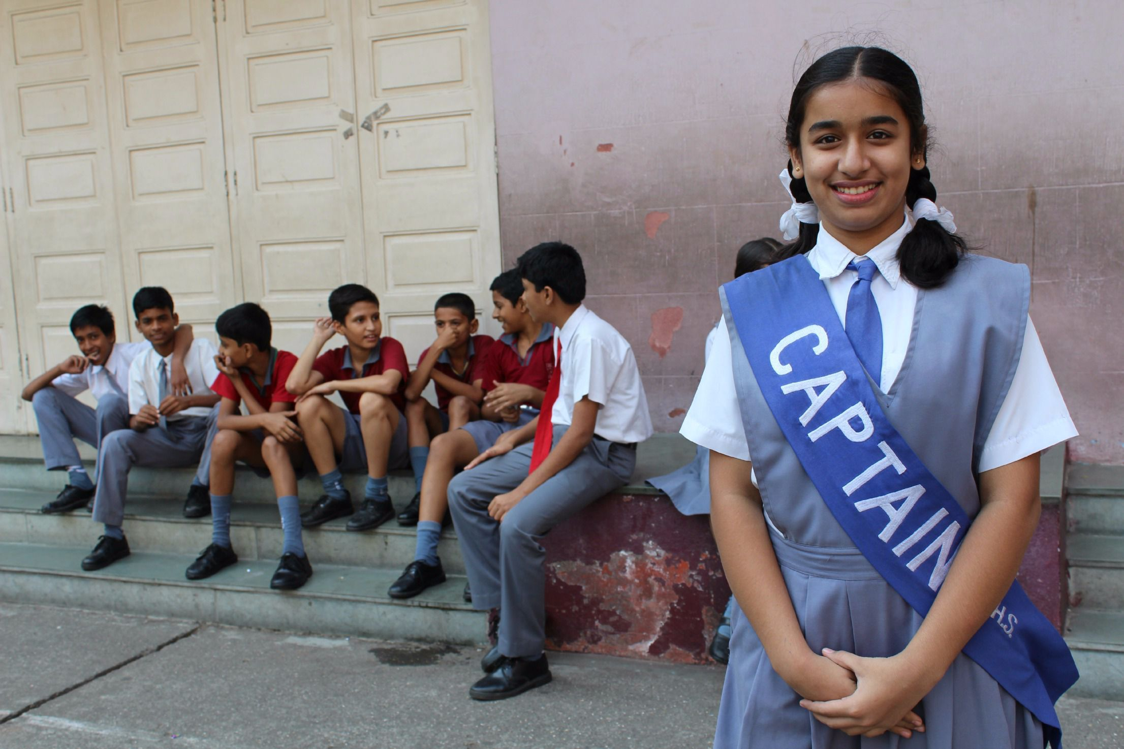 School Captain: A girl at the Convent of Jesus and Mary, where the author's grandmother was educated.