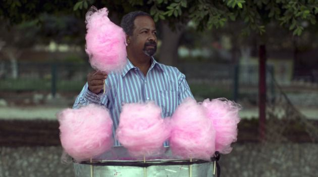 Salad Days? A Palestinian vendor hawks cotton candy. Will the relative calm on both sides of the Green Line persist now that the peace talks are dead.