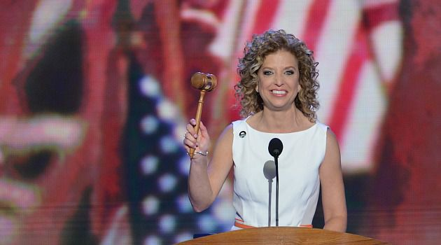 Convention Kingmaker : Debbie Wasserman Schultz wields the gavel at the Democratic National Convention. Despite some grumbling about her style, the DNC chair has steered a successful path toward the November election.