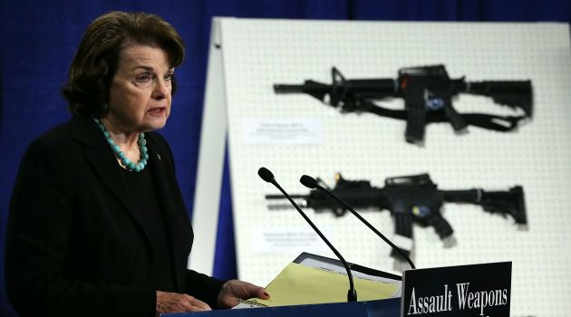 Gun Foe: Sen. Diane Feinstein is pushing for a new ban on assault weapons. She has been promised a vote in the Senate but passage is far from a sure thing.