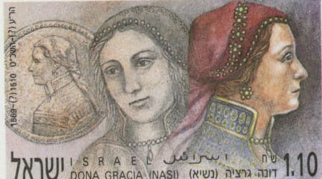 Who?s Dona? The best-known image of the famed Portuguese Sephardic Jew Dona Gracia was on a medallion. But a novelist discovered it is almost certainly not her.