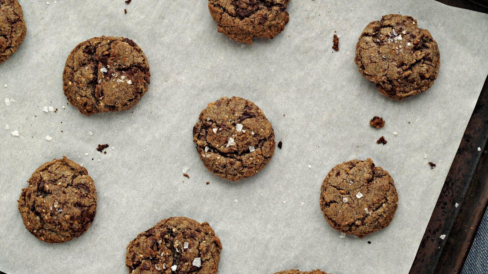 Multigrain Chocolate Chip Cookies from 'Dorie's Cookies.'