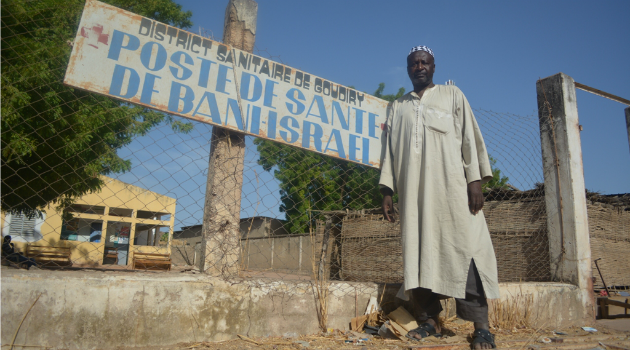 Distant Cousins? Dougoutigo Fadiga leads a rural tribe in Senegal that believes it is descended from Jews.