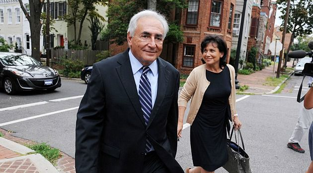 He?s Back: Dominique Strauss-Kahn is hoping to ride the speaking circuit to a comeback from sex charges.