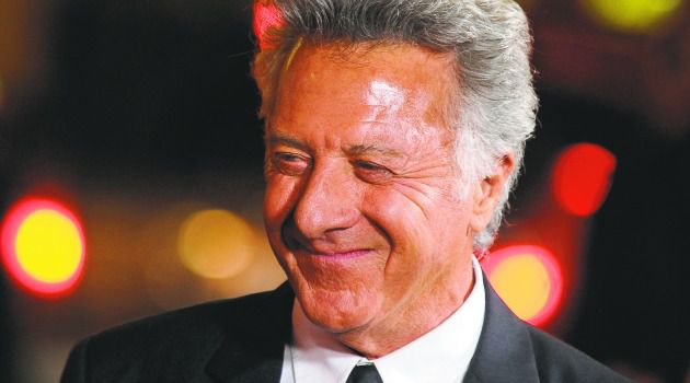 Born Again: Dustin Hoffman says he is rediscovering his faith.