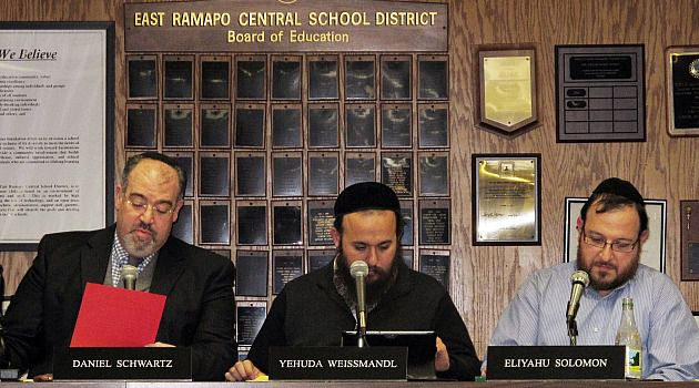 Interest Conflict : Jewish members of the majority on the East Ramapo school board have presided over deep cuts in public schools, as most children in their community attend private yeshivahs.