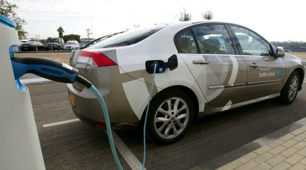 Pipe Dream: Better Place had vowed to erect electric car charging stations across Israel.
