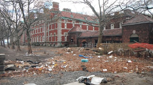 Untold Damage: Sandy inflicted an estimated $59 million in damage to Ellis Island and the Statue of Liberty. Officials don?t know if the landmarks will open anytime soon.