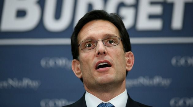 New Look: Eric Cantor, the No. 2 Republican in the House of Representatives, is launching an effort to rebrand the battered GOP.