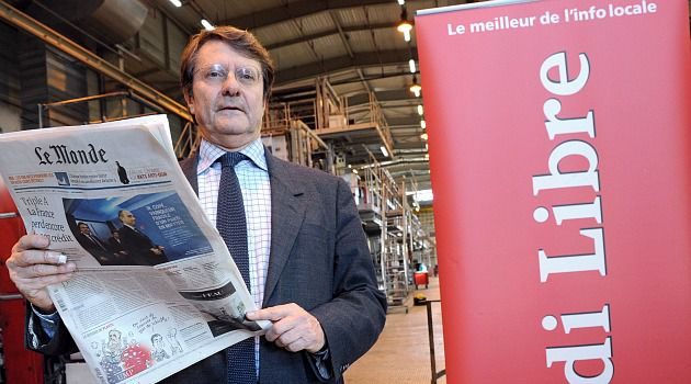 Erik Izraelewicz, editor of France?s Le Monde, has died of a heart attack at 58.