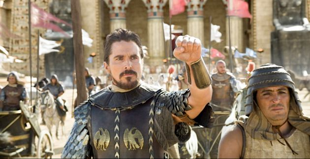 Bale Out: Christian Bale stars as Moses in Ridley Scott's 'Exodus: Gods and Kings.'