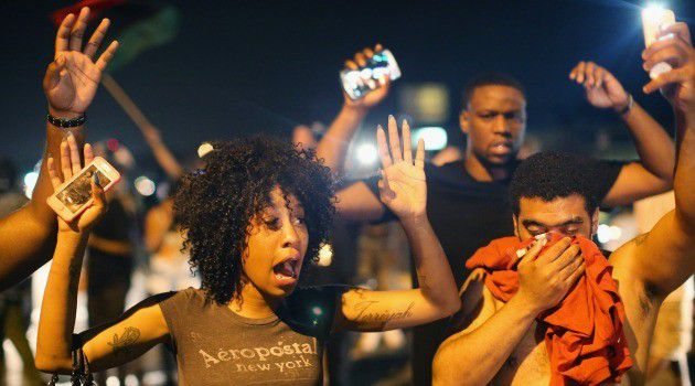 Don't Shoot: The outrage over Ferguson continues to reverberate.