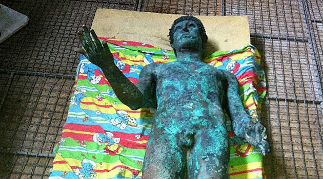 Found and Lost: A rare bronze statue of Apollo mysteriously surfaced in Gaza and was briefly put up for sale on eBay.