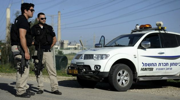 Fighting Flares: Israeli police inspect damage from first rocket strike in months from Gaza.