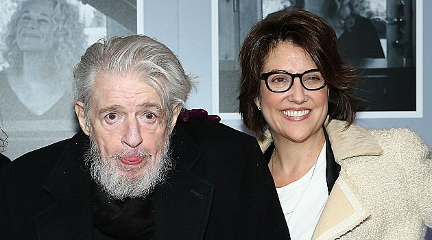 Gerry Goffin, left, attends premier of Carole King's Broadway musical.