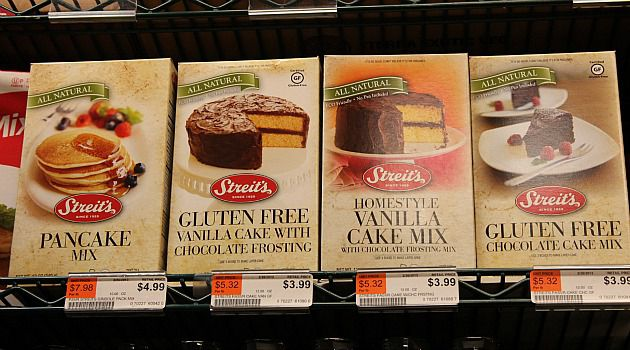 Plenty of Choice: The shelves of Manhattan?s Fairway supermarket are filled with gluten-free kosher-for-Passover food products.