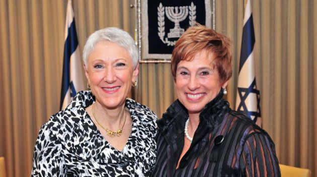 Cleared: Hadassah officials Marcie Natan and Nancy Falchuk were cleared of wrongdoing by an internal investigation.