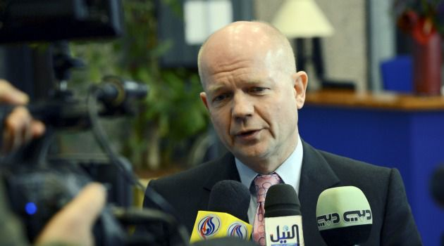 More Support: British Foreign Secretary William Hague says Britain may support the Palestinian push for an upgrade of its status at the United Nations.